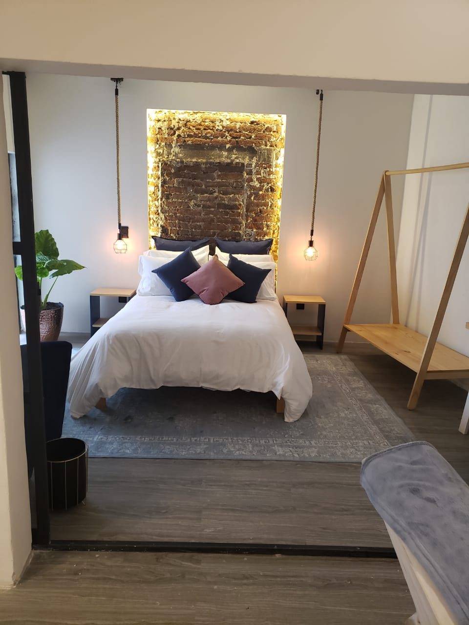 Hermila Tlalpan Suites Master suite