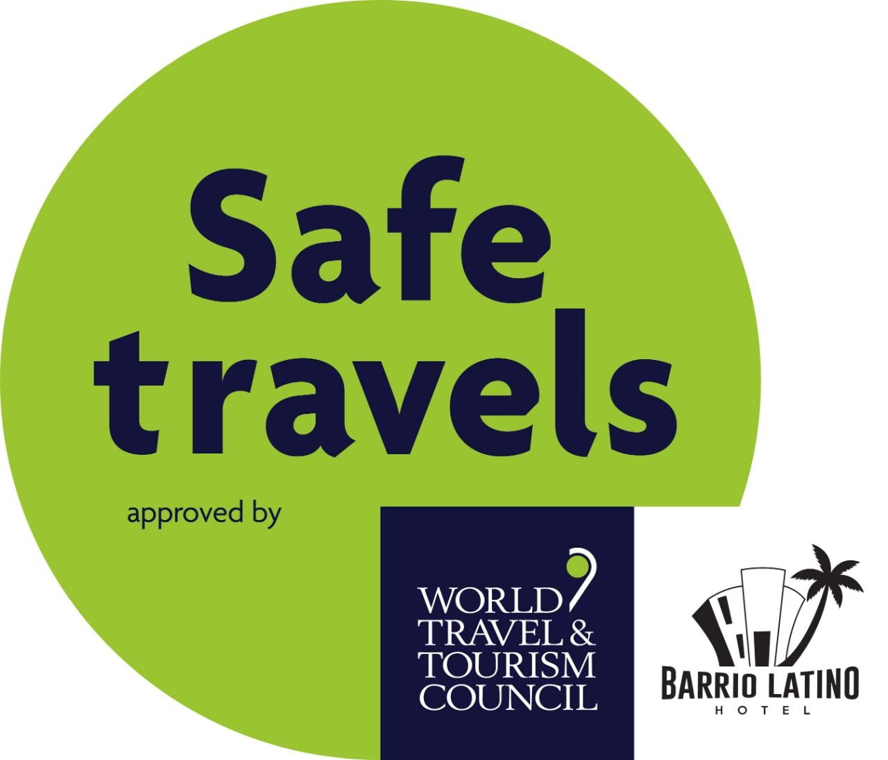 WTTC Safe Travels Certificate .