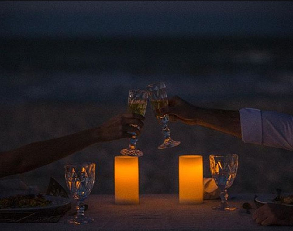 Under the Stars by the Sea