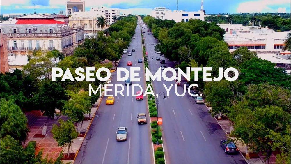 Visita el Paseo de Montejo