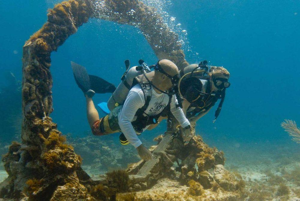 Visit the Underwater Museum of Art