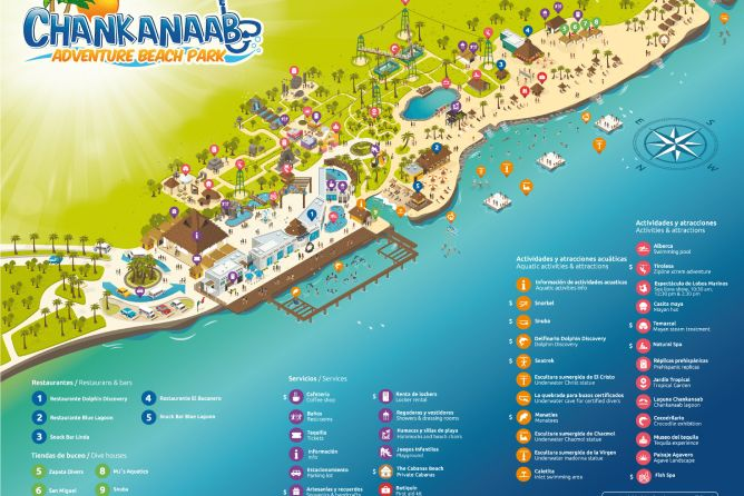 Parque Chankanaab Cozumel